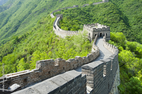Tuinposter Vestingwerk The Great Wall of China