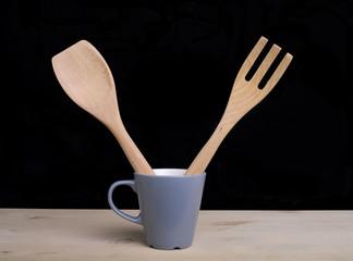 cucchiaio e forchetta
