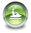 "Green Glossy Pictogram ""Personal Watercraft"""
