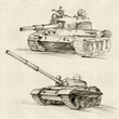 The T-54 and T-55 tanks