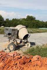 DIY Building Cement Mixer