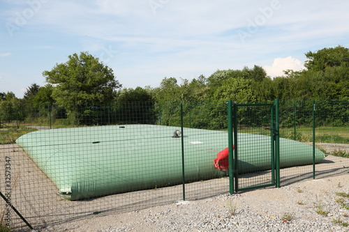 Expandable Rural Water Storage Balloon Tank