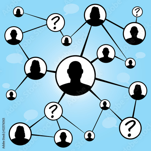 Social Media Friends Chart