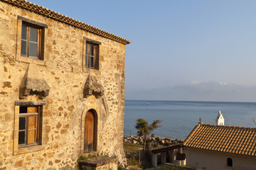 Old traditional house at Zakynthos island in Greece