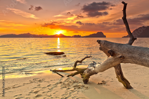 Fototapety, obrazy : Sunset