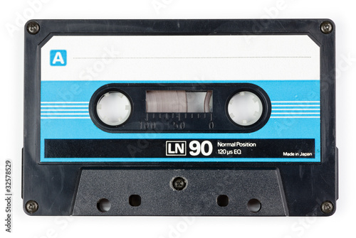 canvas print picture Audio tape