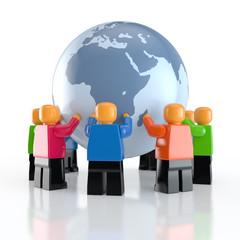 Menschen, Umwelt und Zusammenhalt