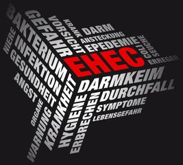 Würfelecke EHEC schwarz