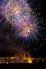 Feuerwerk Dresden