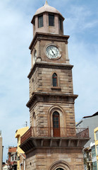 The Clock Tower in Canakkale, Turkey.