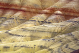 The vast geology of Painted Hills. poster