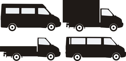 Малотоннажные грузовики