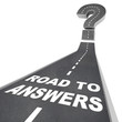 Road to Answers - Words on Street