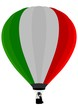 Air Balloon, Italian Flag