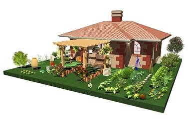 Agriturismo-Fattoria-Agritourism-Farm Holidays-3D