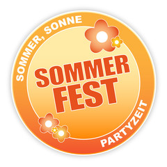 Sommerfest - Button