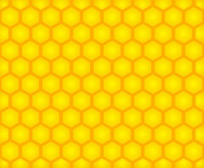 Honey cell background