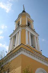 Bell tower in Kolomna Russia