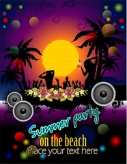 Tropicale summer party