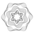 Guilloche - Rosette, Symbol, Rosetta, Sicherheit, Zertifikat