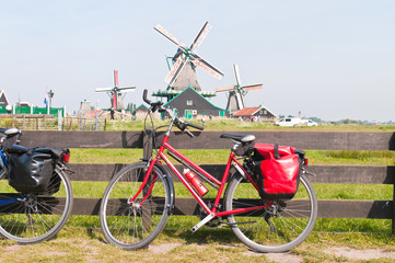 Bicycle and Windmill