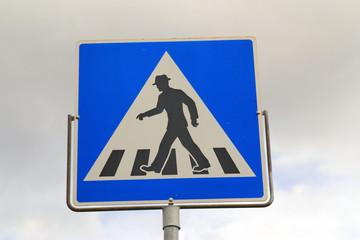 Norwegian road sign