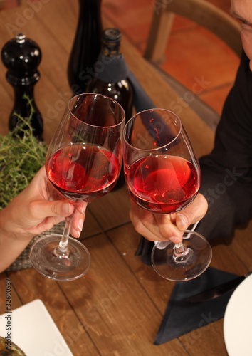 cheers - clink glasses