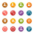 Colored dots - Classic Web Icons