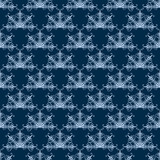 Fan-Shaped Damask Seamless Pattern