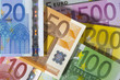 Euro Euroschein Bargeld