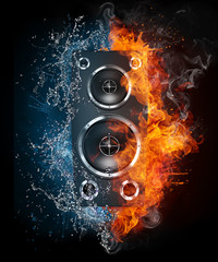 Acoustic Loudspeaker