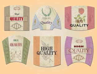 Vintage Quality Label 01