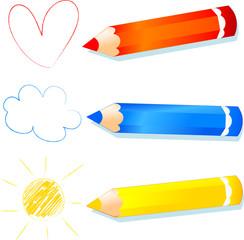 Rosso, azzurro e giallo - Red, blue and yellow