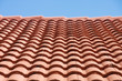 Red Tile Roof Under Blue Sky