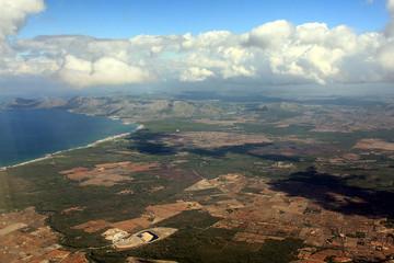 Landeanflug auf Mallorca