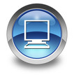 "Glossy Pictogram ""Desktop Computer"""