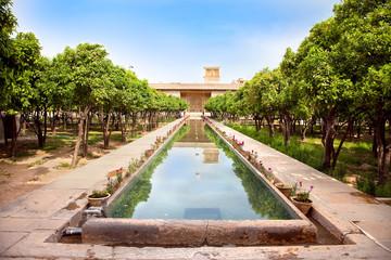 Inside of  Karmin Khan citadel in Shiraz