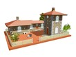 Casolare antico con Pozzo-Ancient Cottage with Tower-3d