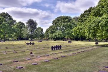 HDR du cimetière allemand de La Cambe