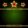 Background gold star