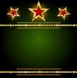 Background gold star