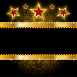 Background star gold.