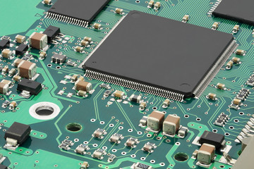 Integrated circuits on PCB