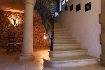 escalier luxe