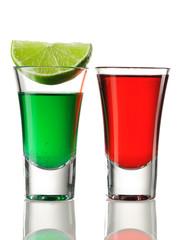 Shot drink cocktails