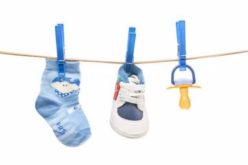 Child clothesline