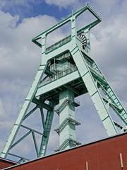 Förderturm Bergbaumuseum in BOCHUM (Ruhrgebiet)