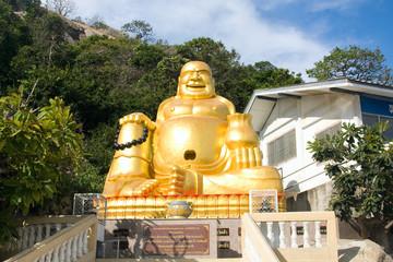 Smiling Buddha in Hua Hin, Thailand
