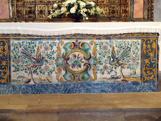 Sagres Point - Retable in the church