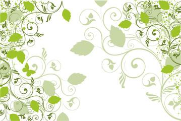 floral verte fluo